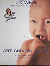Catalogue de vente Nouveaux Maos Ecole de Paris Janette Helleu Peinture chinoise