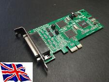 4 PORTE RS232 x2 422/485 X2 COMBO PCI Express Card 16c1052 BASSO PROFILO LP