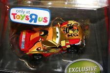 CARS 2 - MIGUEL CAMINO Metallic Finish Gold - Mattel Disney Pixar ToysRus