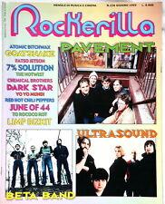 ROCKERILLA 226 PAVEMENT GOATSNAKE RHCP BETA BAND year 1999 ITALY