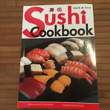 COOK BOOK SUSHI Quick and Easy cookbook gift Japan Japanese Tohyama
