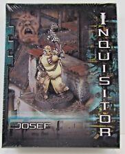 Inquisitor Josef Sealed Box RARE OOP Citadel Games Workshop FREE SHIP