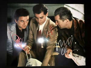 GOODFELLAS Authentic Hand Signed Autograph 8x10 Photo with COA