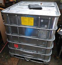 IBC Hazardous Area Chemical Storage Tank 1000 L Container Water Storage