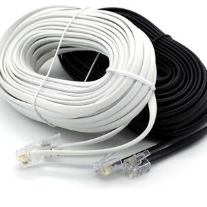 RJ11 to RJ11 ADSL Modem Router Cable Fast Sky Broadband BT Telephone Phone Lead