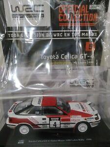 Toyota Celica GT-4 C.Sainz Rallye Mil Lagos 1990 Salvat 1:24 Incluye Fasciculo