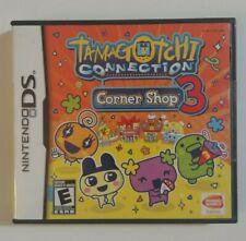 Nintendo DS TAMAGOTCHI CONNECTION CORNER SHOP 3 New, Factory Sealed