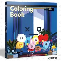 BTS BT21 COLORING BOOK NEW [100% Official Authentic Goods] + Free Traking Number