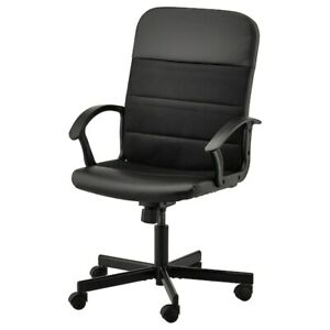 IKEA Renberget Swivel Chair Bomstad Black 503.322.38 NEW
