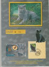 Télécarte editions CEF N°33 avec encart Le Chartreux