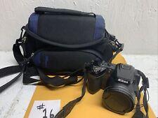 Nikon COOLPIX L120 14.1MP Digital Camera - Black with case