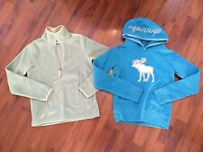 Girls Small Medium 8 Hoodie Pullover Lot Old Navy Abercrombie Both Very Good