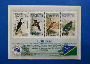 Solomon Islands Stamps, Scott 538a MNH