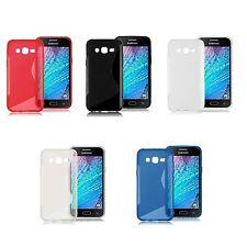 Custodia WAVE Cover Case TPU Morbida Gomma Gel Per Samsung Galaxy J5 SM-J500F