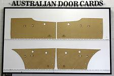 Ford Falcon XM,XP Door Cards. Suit Sedan & Wagon. Blank Trim Panels