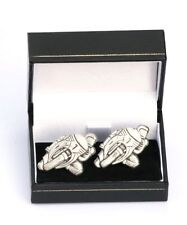 Super Race Bike Design Cufflinks Mens Gift TT GP Rider Team Present