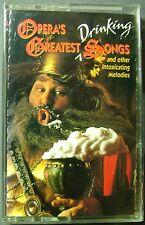 Opera's Greatest Drinking Songs: Verdi, Orff, Mahler...(Cassette, 1995, BMG) NEW
