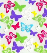 HYDROGRAPHIC WATER TRANSFER HYDRODIPPING FILM HYDRO DIP SPRING BUTTERFLY 1SQ