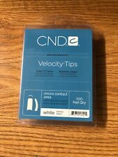 Cnd Velocity Tips White 100ct