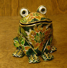 Victorian Treasures #A50-3 FROG, Green w/ rust, NEW from Retail Shop, MIB