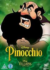 Pinocchio   with Villains Case   (DVD)   **Brand New**  Walt Disney