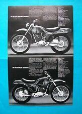 1974 RICKMAN 125  Sales literature/Sales brochure  (NEW-not a reprint)