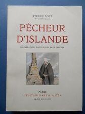P Loti .PECHEUR D ' ISLANDE . illustrations couleur de H Cheffer . 1945