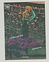 2018-19 Panini Chronicles LUMINANCE PURPLE 169 DEVONTE' GRAHAM RC Rookie Hornets
