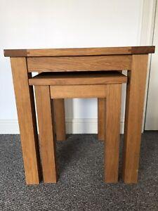 Next Cambridge Oak Tables