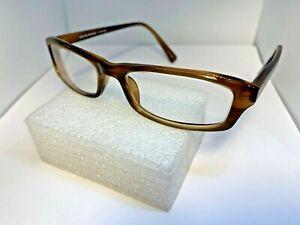 OLIVER PEOPLES 51-18-143 Clarke SYC Brown Eyeglasses frame