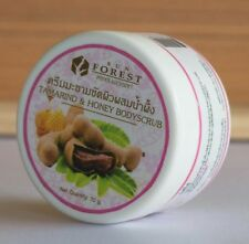 Tamarind & Honey Face & Body Scrub Mask Whitening Skin Natural Herbal 70g.