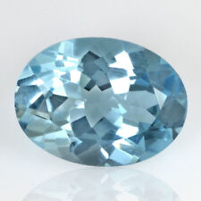 Natural Sky Blue Topaz Oval Cut Africa Loose Gemstone 10.00 Cts 16x12 mm Lovely