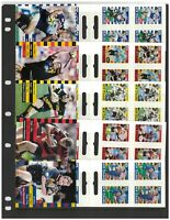 New Zealand 1999 Super 12 Rugby Stamp Booklets Set/5 Self-adhesive Mint 11-17