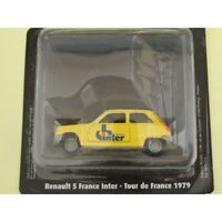 RENAULT 5 France Inter Tour De France 1979 NOREV pour ATLAS 1:43