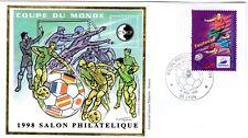 3013+ FDC  ENVELOPPE 1er JOUR     BLOC CNEP N° 26 COUPE DU MONDE DE FOOT.