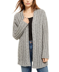 Eileen Fisher Women Clothing Alpaca Blend Cable Knit Cardigan Grey Size XXS