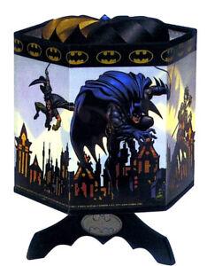 Batman Spinning Signal Lamp DC Comics Warner Bros. 2002 Electric .