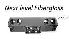 late 76 77 78 79  Corvette Rigid Fiberglass Rear Bumper