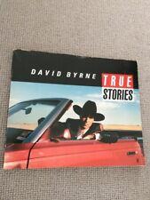 David Byrne TRUE STORIES paperback 1st ed 1986 Faber VG