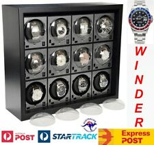 System for 12 Watches-model: 12Th-Brilliant! Boxy Brick Automatic Watch Winder