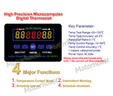 220v Electronic Thermostat 10A LED digital Temperature Controller control switch