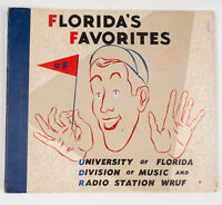 "Vintage 1940's University of Florida ""Florida's Favorites"" 78 RPM Records"