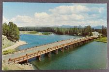 Yellowstone Lake Fishing Bridge National Park Wyoming Postcard
