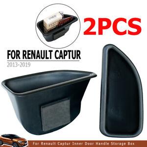 For Renault Kaptur Captur J87 Door Storage Box Organizer Container Case Pallet