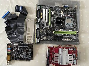 intel core 2 duo XFX Nforce Motherboard GeForce 8600GT & Creative SB 5.1 Bundle