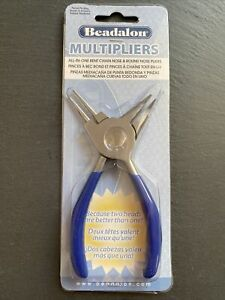 Beadalon Multipliers All-in-One Bent Nose & Round Nose Pliers
