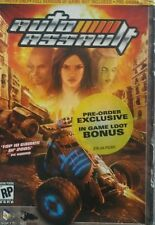 NEW! AUTO ASSAULT PC CD PRE-ORDER Game VERSION ONLY NO RETAIL BOX