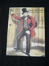 STANLEY GIBBONS AUCTION CATALOGUE 1973 GREAT BRITAIN