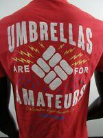 NWT Mens Columbia Tony Umbrellas Are for Amateurs Short Sleeve S/S Tee T-Shirt