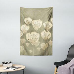 Floral Tapestry Blooms Essence Nature Print Wall Hanging Decor